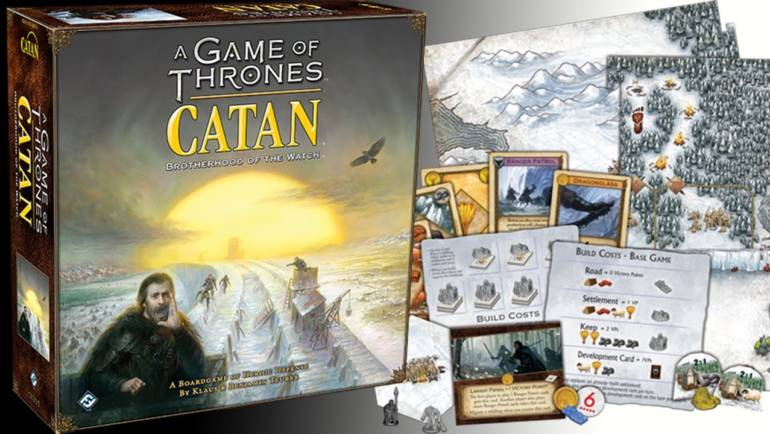 A Game of Thrones CATAN-Brotherhood of the Watch